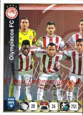 2015-16 - Panini FIFA 365 Stickers - N° 537 - Equipe Olympiacos FC 1
