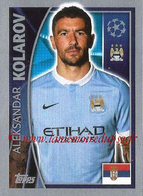 2015-16 - Topps UEFA Champions League Stickers - N° 253 - Aleksandar KOLAROV (Manchester City FC)