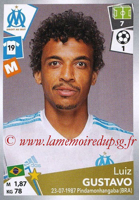 2017-18 - Panini Ligue 1 Stickers - N° 217 - Luiz GUSTAVO (Marseille)