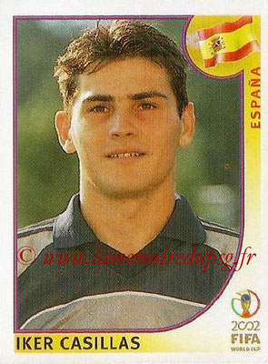 2002 - Panini FIFA World Cup Stickers - N° 114 - Iker CASILLAS (Espagne)