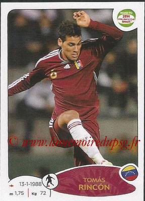 2014 - Panini Road to FIFA World Cup Brazil Stickers - N° 237 - Tomas RINCON (Vénézuela)