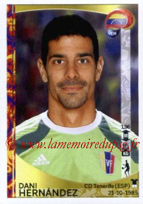 Panini Copa America Centenario USA 2016 Stickers - N° 282 - Dani HERNANDEZ (Venezuela)
