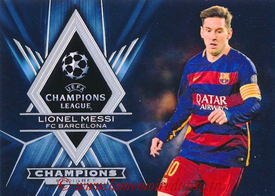 2015-16 - Topps UEFA Champions League Showcase Soccer - N° CP-LM - Lionel MESSI (FC Barcelone) (Champions Pedigree)