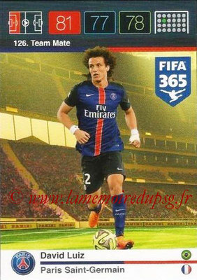 N° 126 - David LUIZ (Team Mate)
