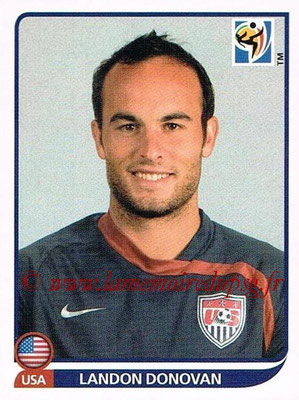 2010 - Panini FIFA World Cup South Africa Stickers - N° 218 - Landon DONOVAN (États Unis)