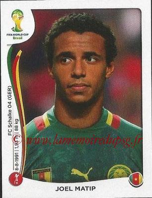 2014 - Panini FIFA World Cup Brazil Stickers - N° 097 - Joel MATIP (Cameroun)