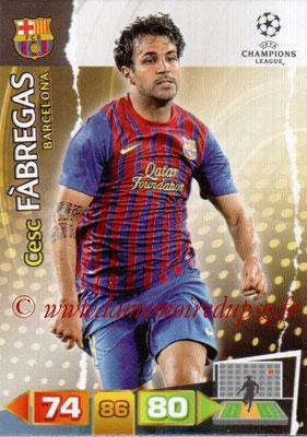2011-12 - Panini Champions League Cards - N° 035 - Cesc FABREGAS (FC Barcelone)