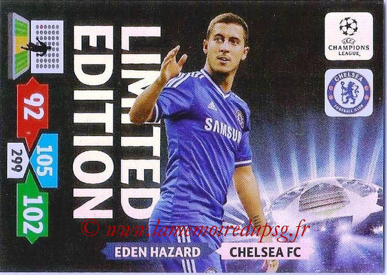 2013-14 - Adrenalyn XL champions League N° LE26 - Eden HAZARD (Chelsea FC) (Limited Edition)