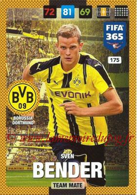 2016-17 - Panini Adrenalyn XL FIFA 365 - N° 175 - Sven BENDER (Borussia Dortmund)
