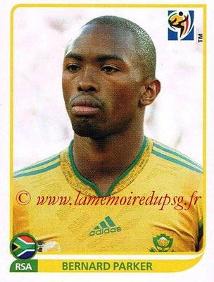 2010 - Panini FIFA World Cup South Africa Stickers - N° 048 - Bernard PARKER (Afrique du Sud)