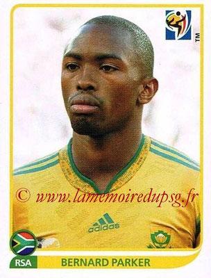 2010 - Panini FIFA World Cup South Africa Stickers - N° 048 - Bernard PARKER (Afrique du Sud)