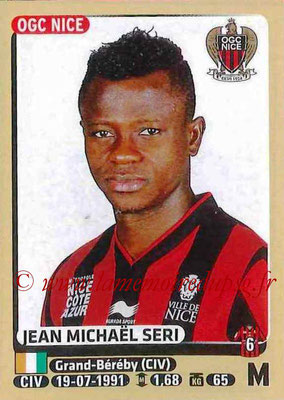 2015-16 - Panini Ligue 1 Stickers - N° 329 - Jean Michaël SERI (OGC Nice)
