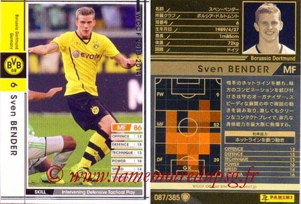 2013-14 - WCCF - N° 087 - Sven BENDER (Borussia Dortmund)