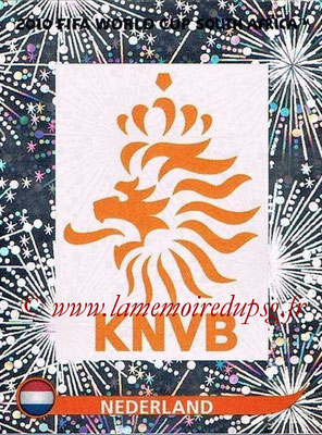 2010 - Panini FIFA World Cup South Africa Stickers - N° 335 - Logo Pays Bas