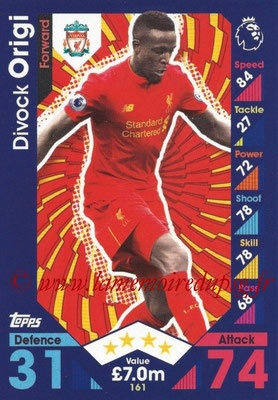 2016-17 - Topps Match Attax Premier League - N° 161