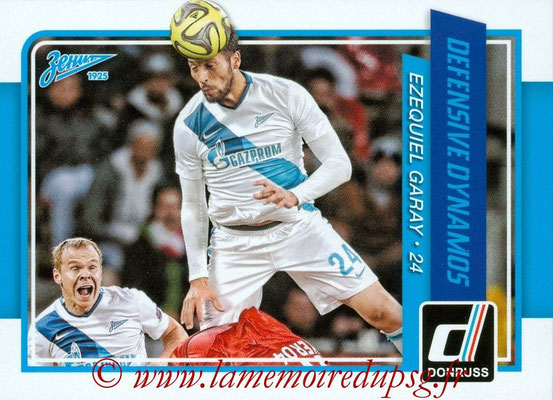 2015 - Panini Donruss Soccer - N° DD02 - Ezequiel GARAY (FC Zenit) (Defensive Dynamos)