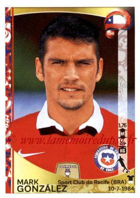 Panini Copa America Centenario USA 2016 Stickers - N° 337 - Mark GONZALEZ (Chili)