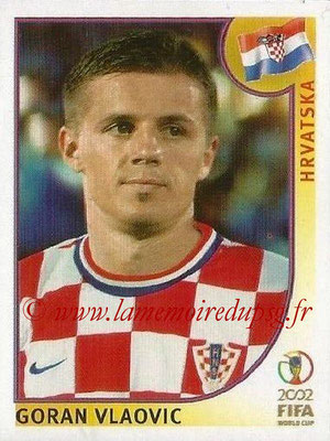2002 - Panini FIFA World Cup Stickers - N° 492 - Goran VLAOVIC (Croatie)
