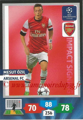 2013-14 - Adrenalyn XL champions League N° 263 - Mesut OZIL (Arsenal FC) (Impact Signing)