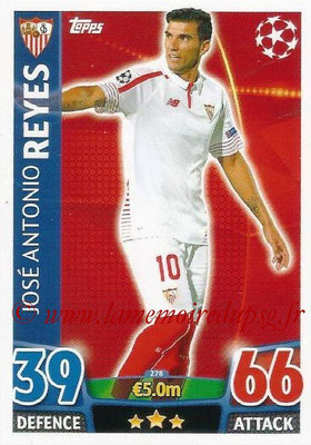 2015-16 - Topps UEFA Champions League Match Attax - N° 278 - José Antonio REYES (FC Seville)
