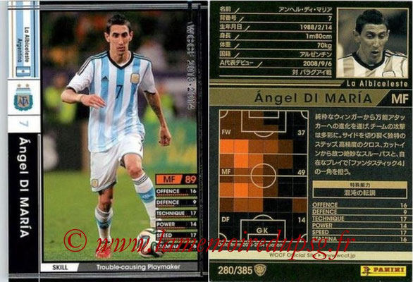N° 280 - Angel DI MARIA (2013-14, Argentine > 2015-??, PSG)