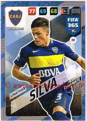 2017-18 - Panini FIFA 365 Cards - N° 020 - Jonathan SILVA (Boca Juniors)