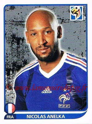 2010 - Panini FIFA World Cup South Africa Stickers - N° 102 - Nicolas ANELKA (France)