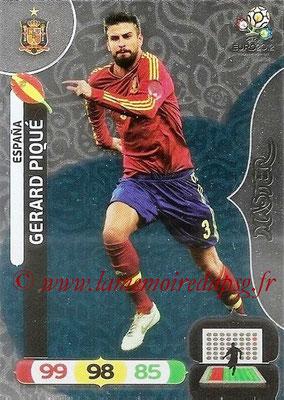 Panini Euro 2012 Cards Adrenalyn XL - N° 283 - Gerard PIQUÉ (Espagne) (Master)
