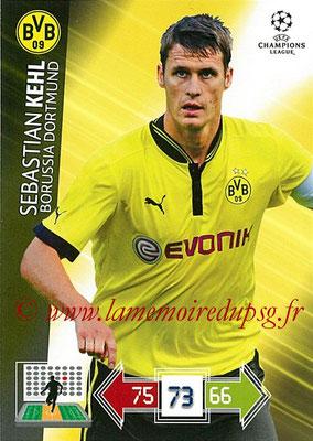 2012-13 - Adrenalyn XL champions League N° 077 - Sebastian KEHL (Borussia Dortmund)