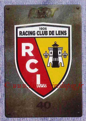 2015-16 - Panini Ligue 1 Stickers - N° 501 - Ecusson RC Lens