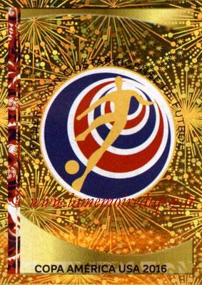 Panini Copa America Centenario USA 2016 Stickers - N° 062 - Logo Costa Rica