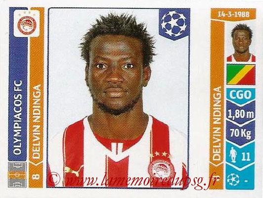 2014-15 - Panini Champions League N° 087 - Delvin NDINGA (Olympiacos FC)