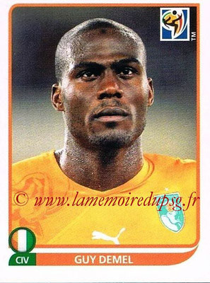 2010 - Panini FIFA World Cup South Africa Stickers - N° 536 - Guy DEMEL (Côte d'Ivoire)