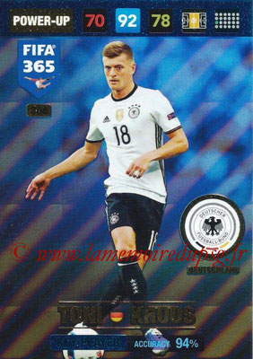 2016-17 - Panini Adrenalyn XL FIFA 365 - N° 366 - Toni KROOS (Allemagne) (Key Player)