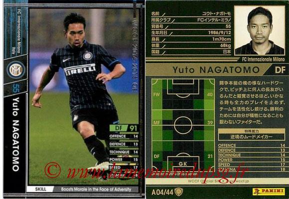 2013-14 - WCCF - N° A04 - Yulo NAGATOMO (FC Inter Milan)