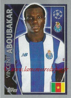 2015-16 - Topps UEFA Champions League Stickers - N° 476 - Vincent ABOUBAKAR (FC Porto)