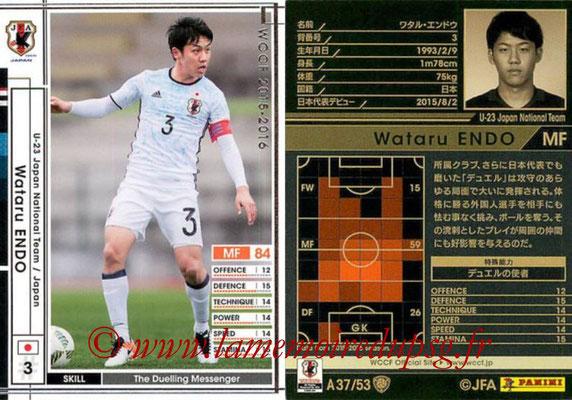 2015-16 - Panini WCCF - N° A37 - Wataru ENDO (Japon)