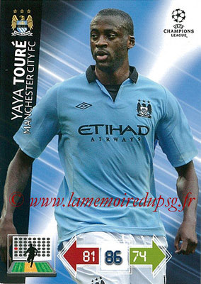 2012-13 - Adrenalyn XL champions League N° 128 - Yaya TOURE (Manchester City FC)