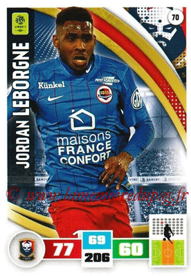 2016-17 - Panini Adrenalyn XL Ligue 1 - N° 070 - Jordan LEBORGNE (Caen)