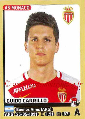 2015-16 - Panini Ligue 1 Stickers - N° 261 - Guido CARRILLO (AS Monaco)