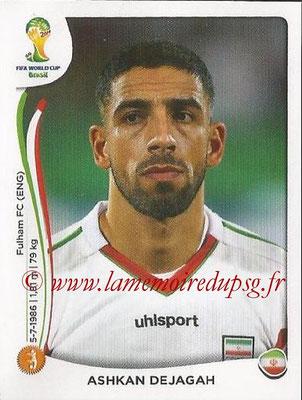 2014 - Panini FIFA World Cup Brazil Stickers - N° 464 - Ashkan DEJAGAH (Iran)