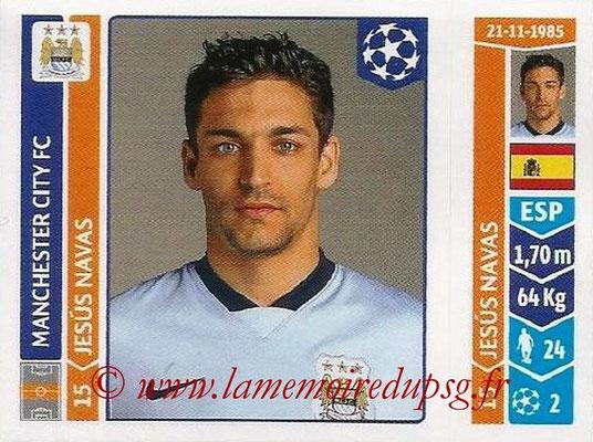 2014-15 - Panini Champions League N° 379 - Jesus NAVAS (Manchester City FC)