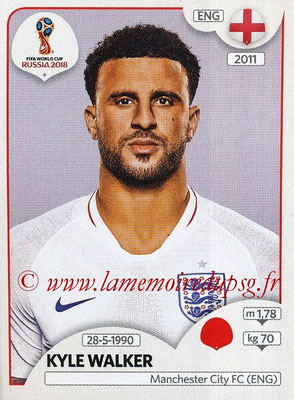 2018 - Panini FIFA World Cup Russia Stickers - N° 577 - Kyle WALKER (Angleterre)