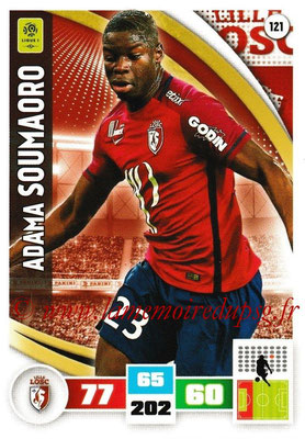 2016-17 - Panini Adrenalyn XL Ligue 1 - N° 121 - Adama SOUMAORO (Lille)