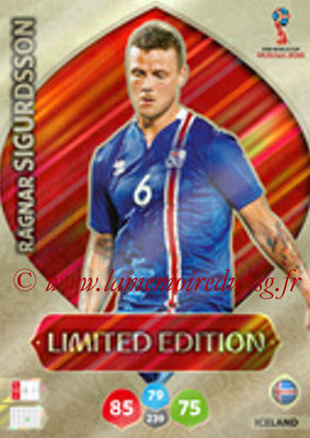 2018 - Panini FIFA World Cup Russia Adrenalyn XL - N° LE-RSI - Ragnar SIGURDSSON (Islande) (Limited Edition)