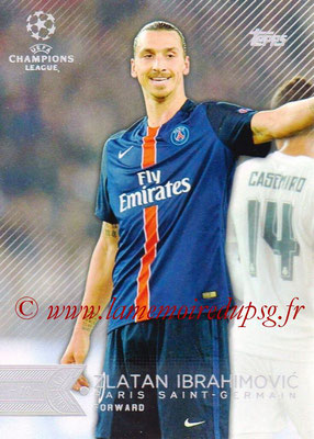 2015-16 - Topps UEFA Champions League Showcase Soccer - N° 002 - Zlatan IBRAHIMOVIC (Paris Saint-Germain)