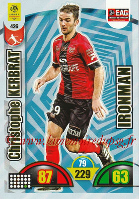 2018-19 - Panini Adrenalyn XL Ligue 1 - N° 426 - Christophe KERBRAT (Guingamp) (Ironman)