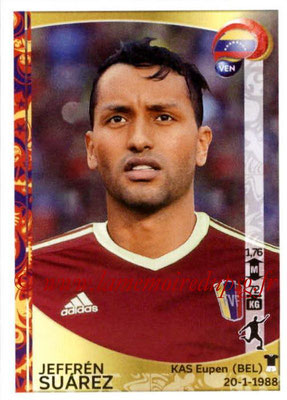 Panini Copa America Centenario USA 2016 Stickers - N° 299 - Jeffren SUAREZ (Venezuela)