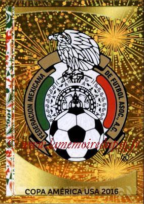Panini Copa America Centenario USA 2016 Stickers - N° 206 - Logo Mexique