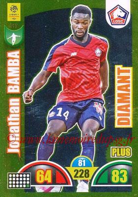 2018-19 - Panini Adrenalyn XL Ligue 1 - N° 519 - Jonathan BAMBA (Lille) (Diamant)